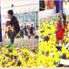 东营厂家生产网红真人娃娃机使用的材质_山东三喜