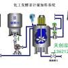 反应釜自动控制,反应过程控制,反应釜温度控制,反应釜集中控制
