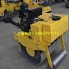 乐山市手扶式微型震动压路机路面沟槽路面压实机宣土震碾机
