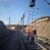 铁路专用检测检查梯车 接触网检修梯车 钢管梯车